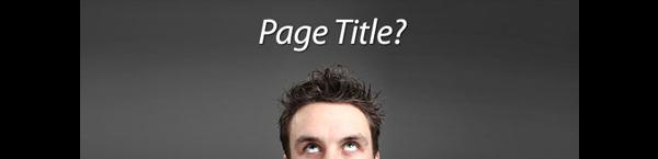 page-title-nedir