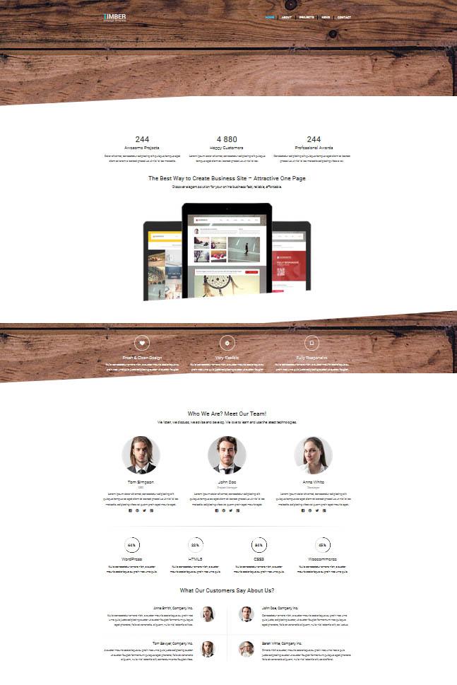 ahşap şirketi hazır web sitesi
