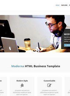 Modern hazır web sitesi