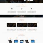 Hazır Firma Sitesi Ana Sayfası Tam Görünüm