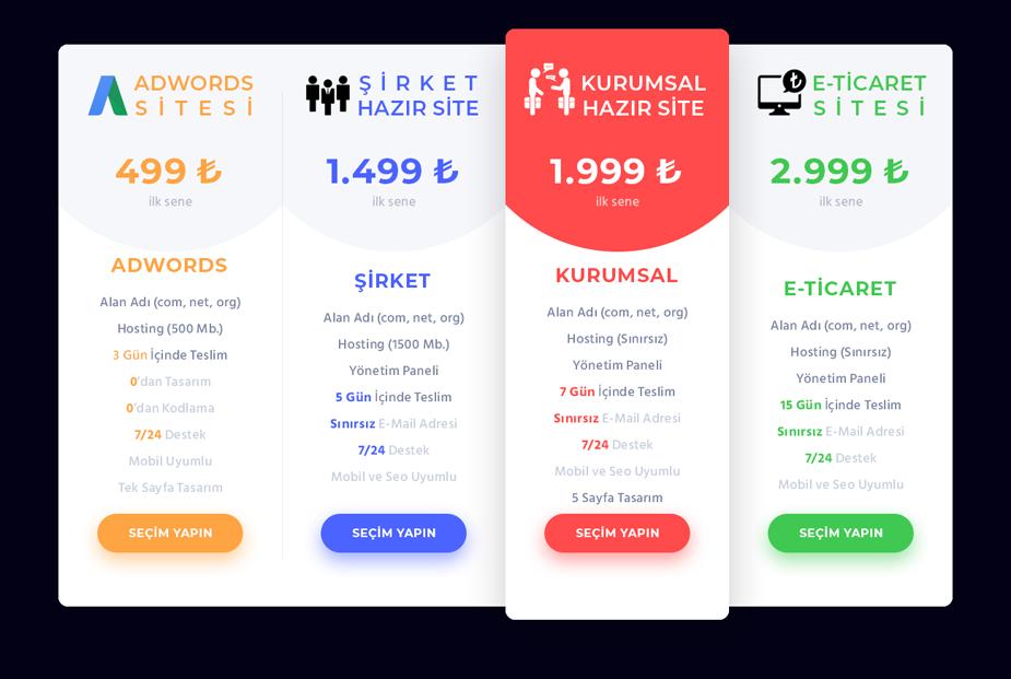 Ostim Web Tasarım Fiyatları