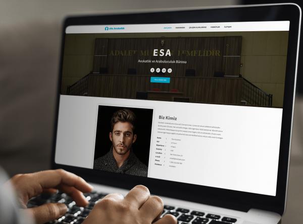 Hazır Hukuk Bürosu Web Tasarımı