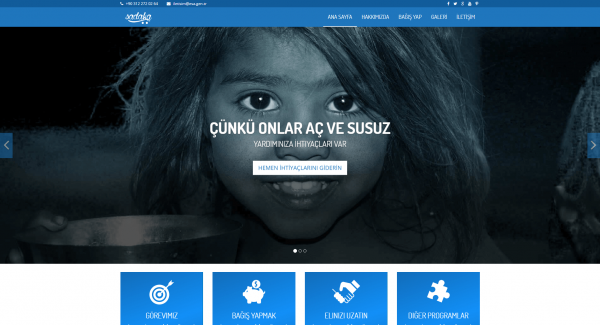 Bağış Web Tasarımı
