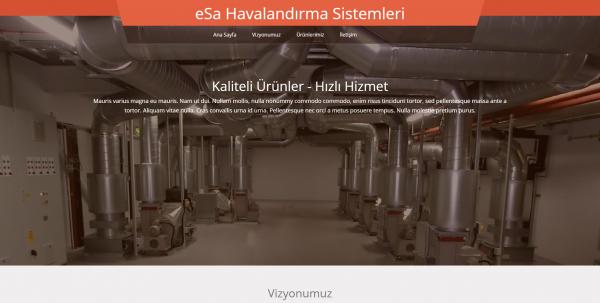 menfez web sitesi ana sayfası