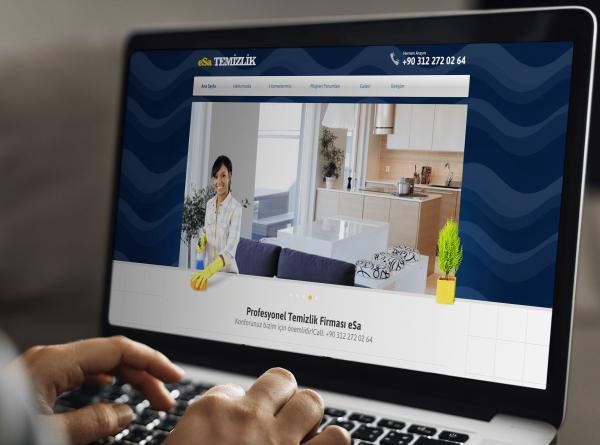 Hazır Temizlik Şirketler Web Tasarımı