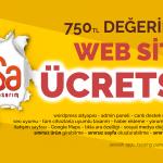 Ücretsiz web sitesi afişi