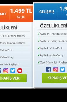 Sosyal Medya Yönetim Paketleri