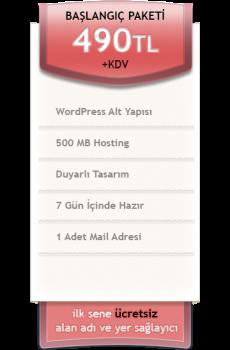 başlangıç web tasarım paketi kare resmi