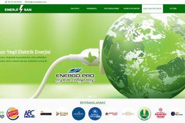 Ucuz Enerjisan Web Sitesi