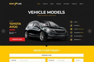 Hazır Araç Kiralama Sitesi Ana Sayfa Resmi