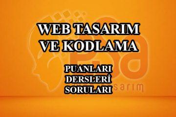 web tasarım ve kodlama hakkında bilgiler