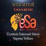 Web sitesi tasarımı yapma yolları